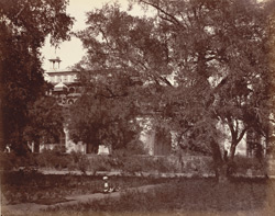 The Mausoleum of Akbar, from the enclosure, Secundra. .
